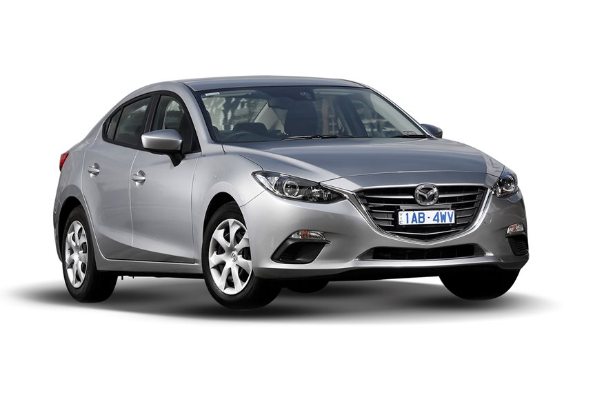 2016 Mazda 3 Maxx Safety, 2.0L 4cyl Petrol Manual, Sedan