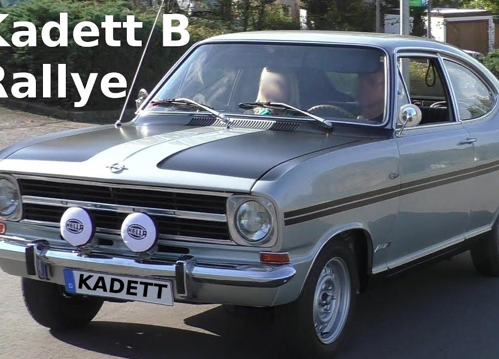 1968 OPEL KADETT B Coupé-F Rallye - Classic Car on the road ...