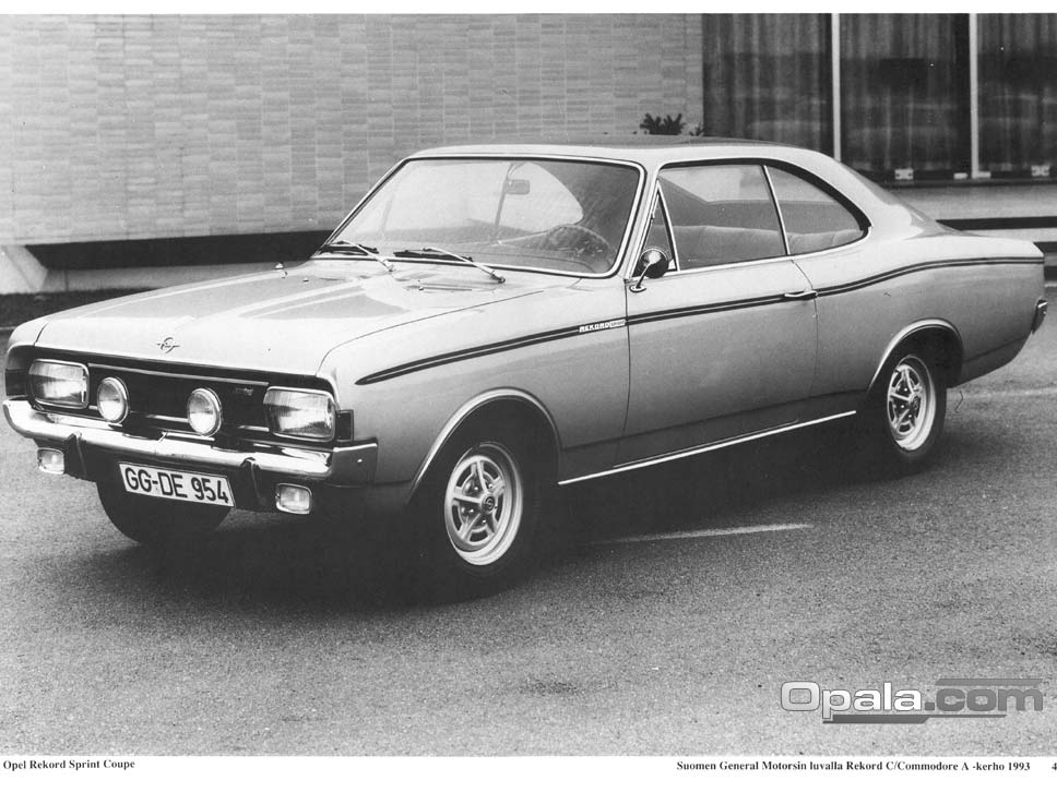 Opel Rekord Sprint Coupe #0708