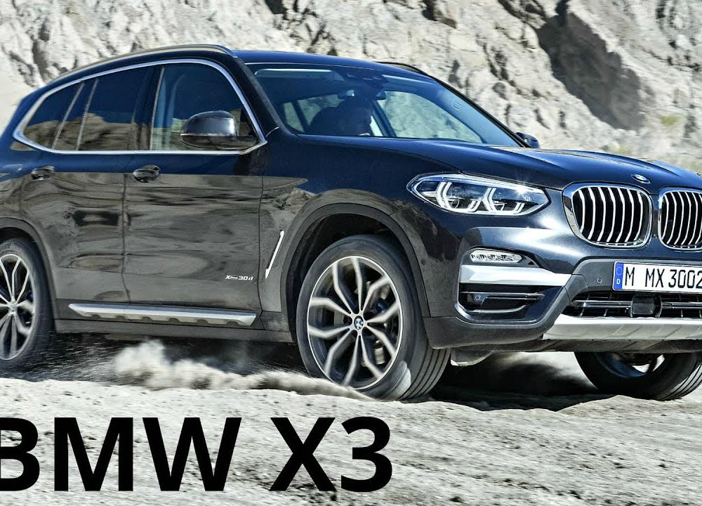 BMW X3 xDrive 30d - Perfect SUV 265 hp - YouTube