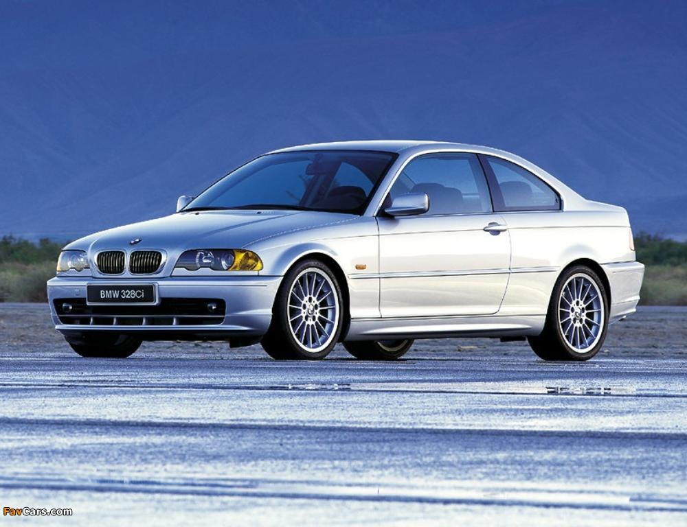BMW 328Ci Coupe (E46) 1999–2000 pictures (1024x768)