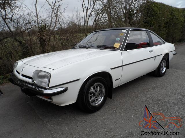 1978 OPEL MANTA 2 DR COUPE SR BERLINETTA ONLY 39K ...
