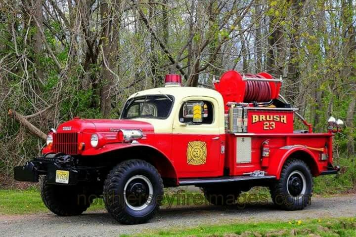 Dodge power wagon (With images) | Fire trucks, Dodge power wagon ...