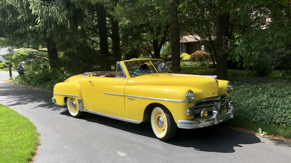 This is my grandpa's 1950 Dodge Wayfarer Sportabout. More info in ...