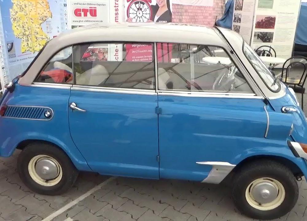1957-1959, BMW 600, Auto Show Veterama Hockenheim 2015 - YouTube