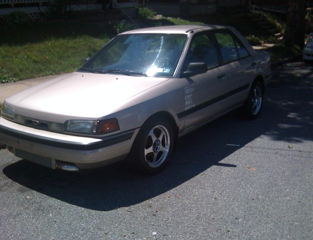 1994 Mazda Protege DX Turbo Pictures, Mods, Upgrades, Wallpaper ...