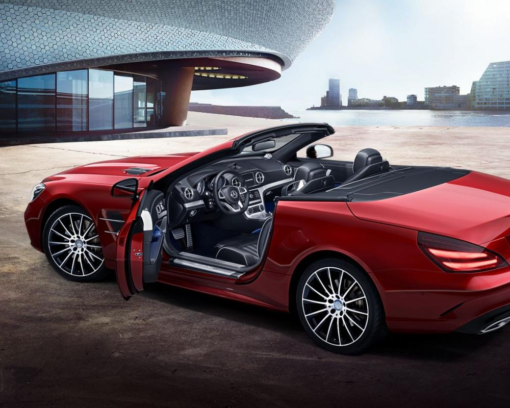 Mercedes-Benz SL Roadster: design
