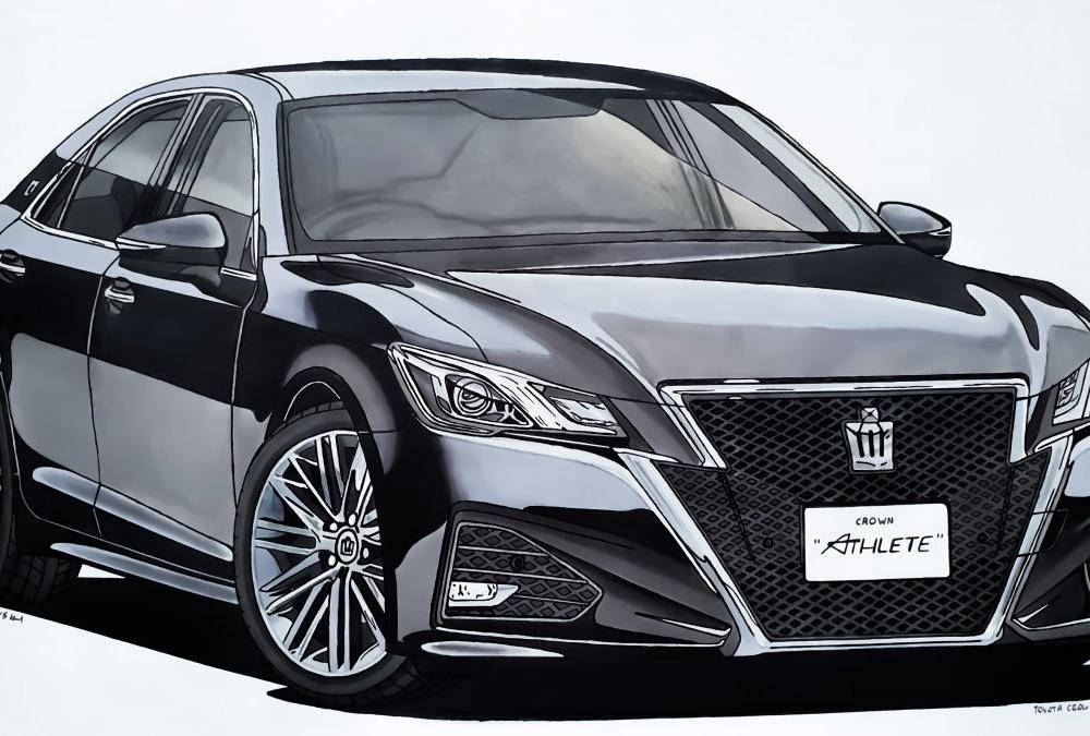 Toyota Crown Athlete - Apex Design - Draw to Drive