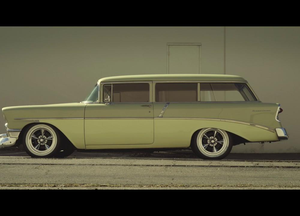 "US Mags ""Standard"" - 1956 Chevy 210 Wagon - YouTube"