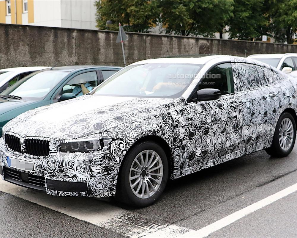 2018 BMW 5 Series GT Spied Again, We Get A Glimpse of The Interior ...