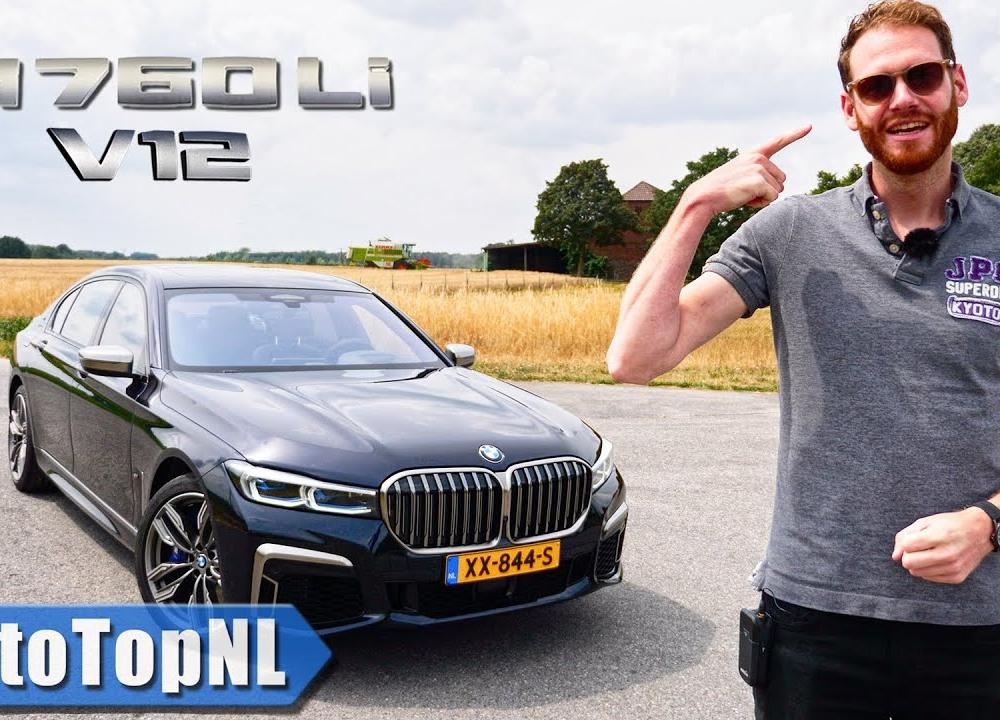 2020 BMW 7 Series M760Li V12 xDrive REVIEW on AUTOBAHN & ROAD by ...