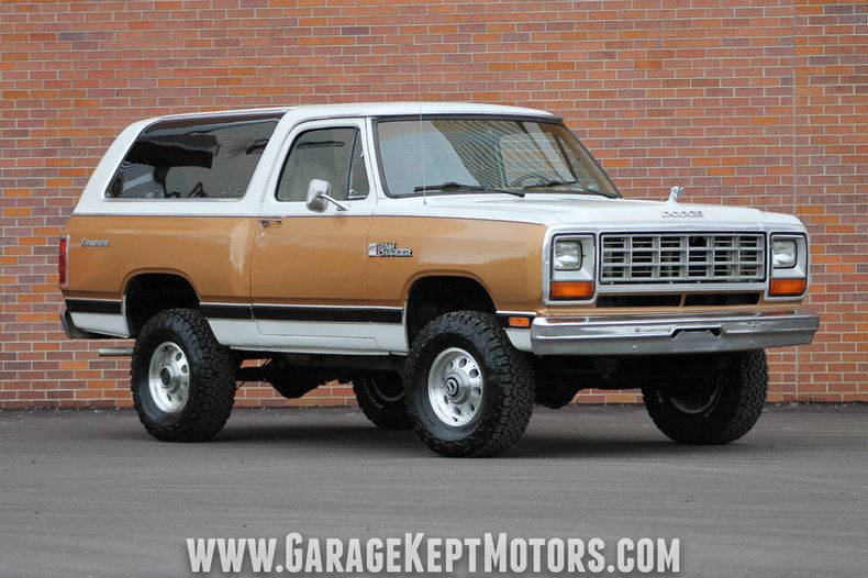 1985 Dodge Ramcharger Prospector 4x4 (With images) | Dodge ...