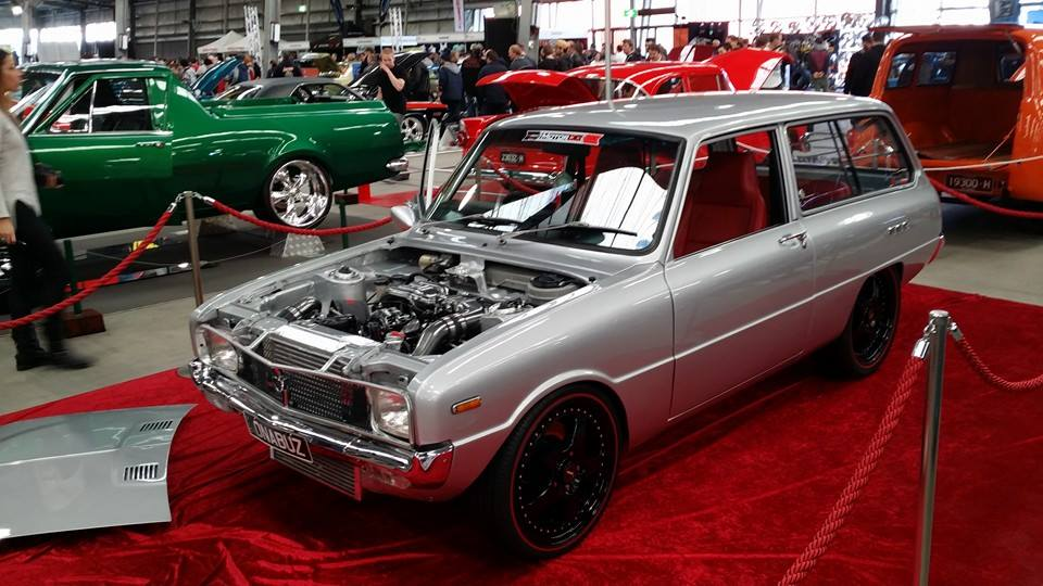 Mazda 1300 Wagon With A Turbo 13B - engineswapdepot.com