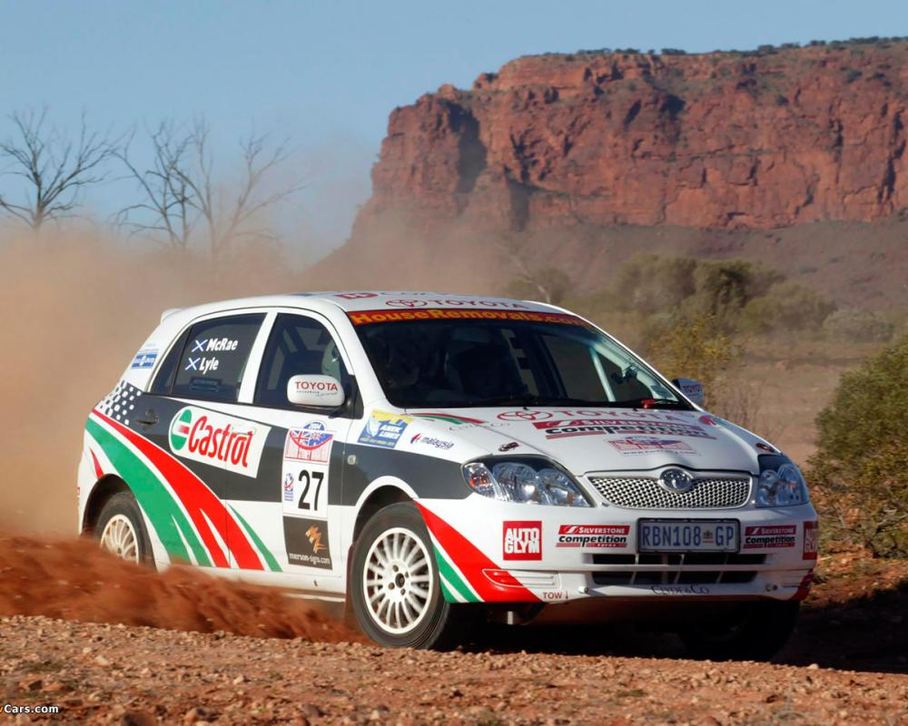 Pictures of Toyota Corolla Rally Car 2002–04 (1280x960)