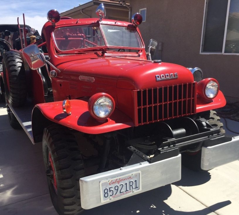 A Dodge Power Wagon Fire Truck or Two - Revivaler