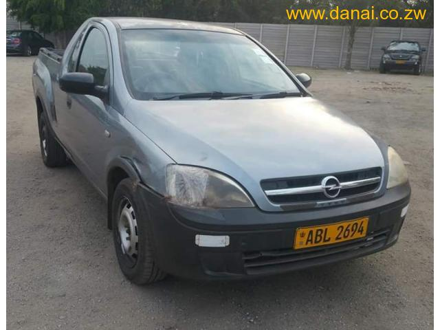 2008 Opel Corsa pick up for sale Harare - Danai Classifieds