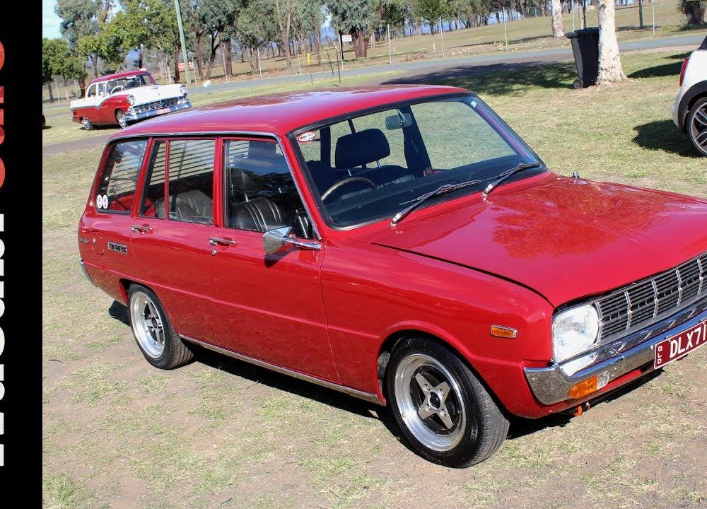 Four Doors for More Chores: 1971 Mazda 1300 Deluxe - STBV/Familia ...