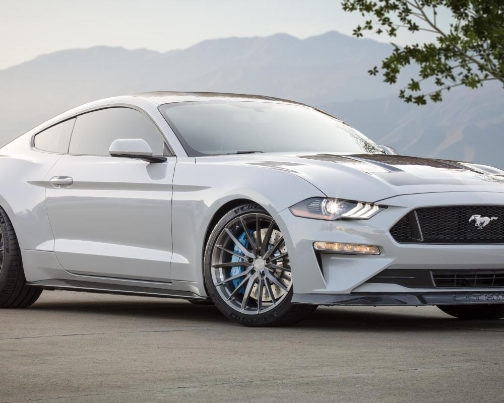 Webasto, Ford Team Up on All-Electric Mustang Coupe Concept ...