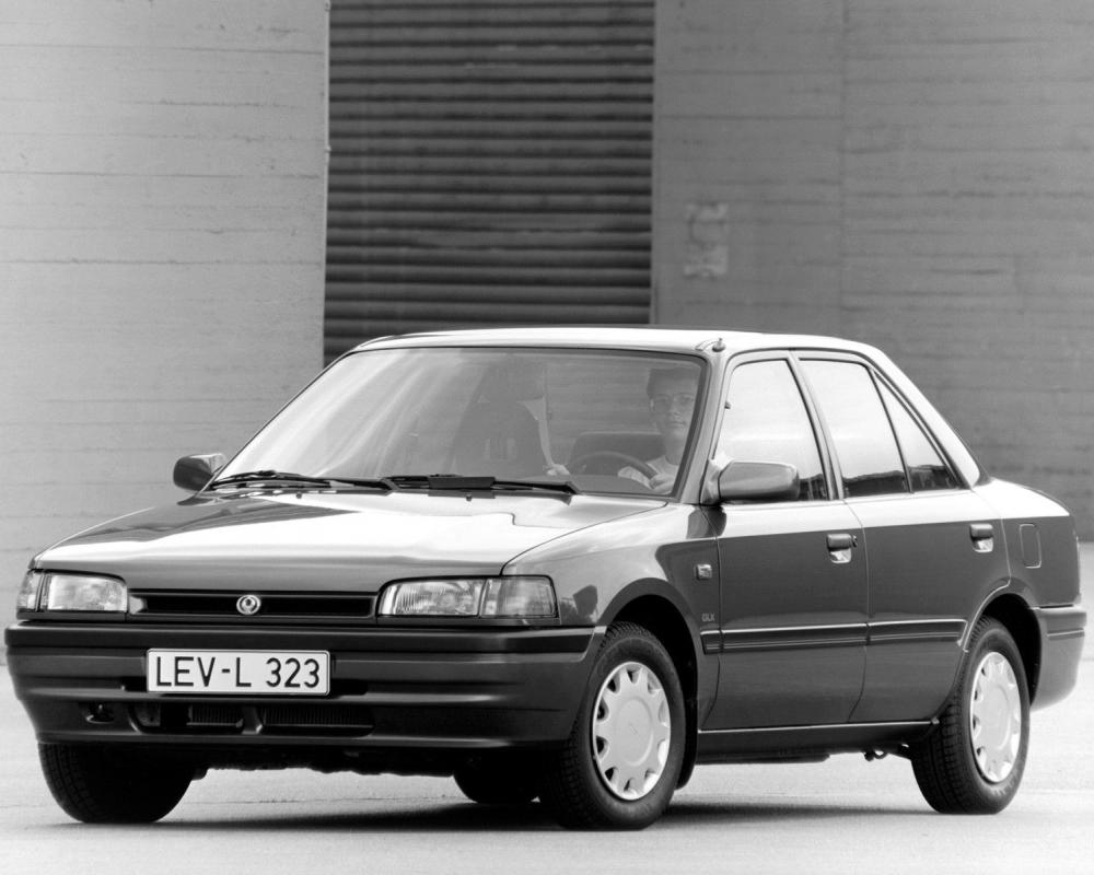 MAZDA 323 (BG) Sedan Spezifikationen & Fotos - 1989, 1990, 1991 ...