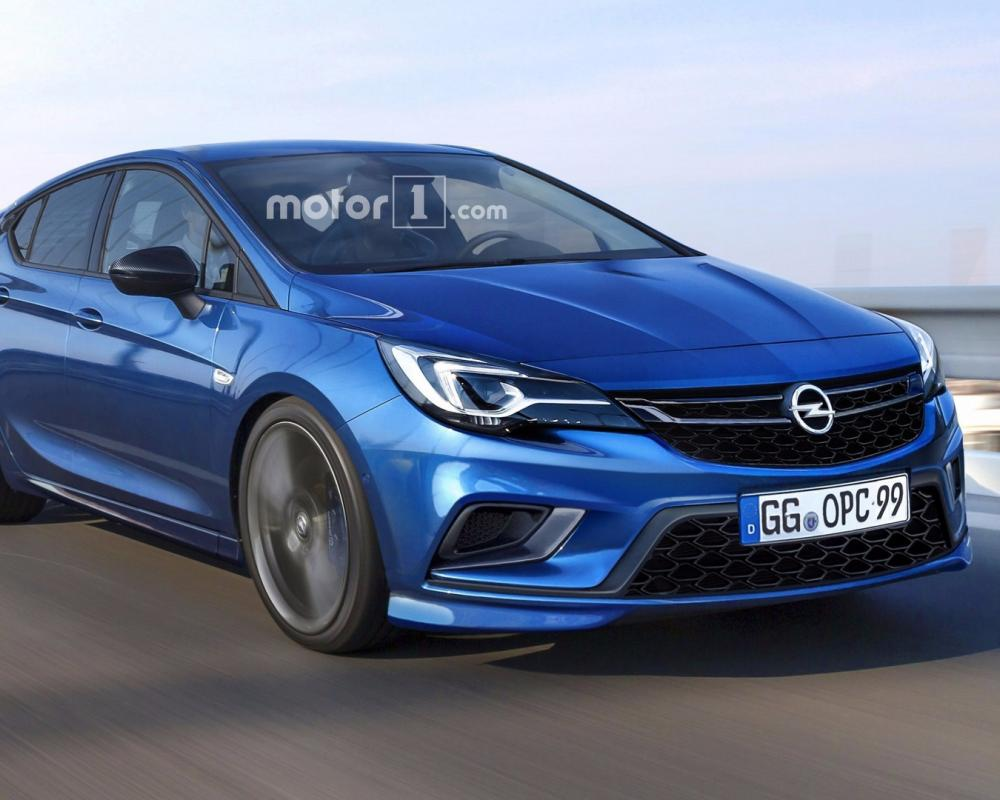 Opel Astra OPC coming later this year, here's how it might look