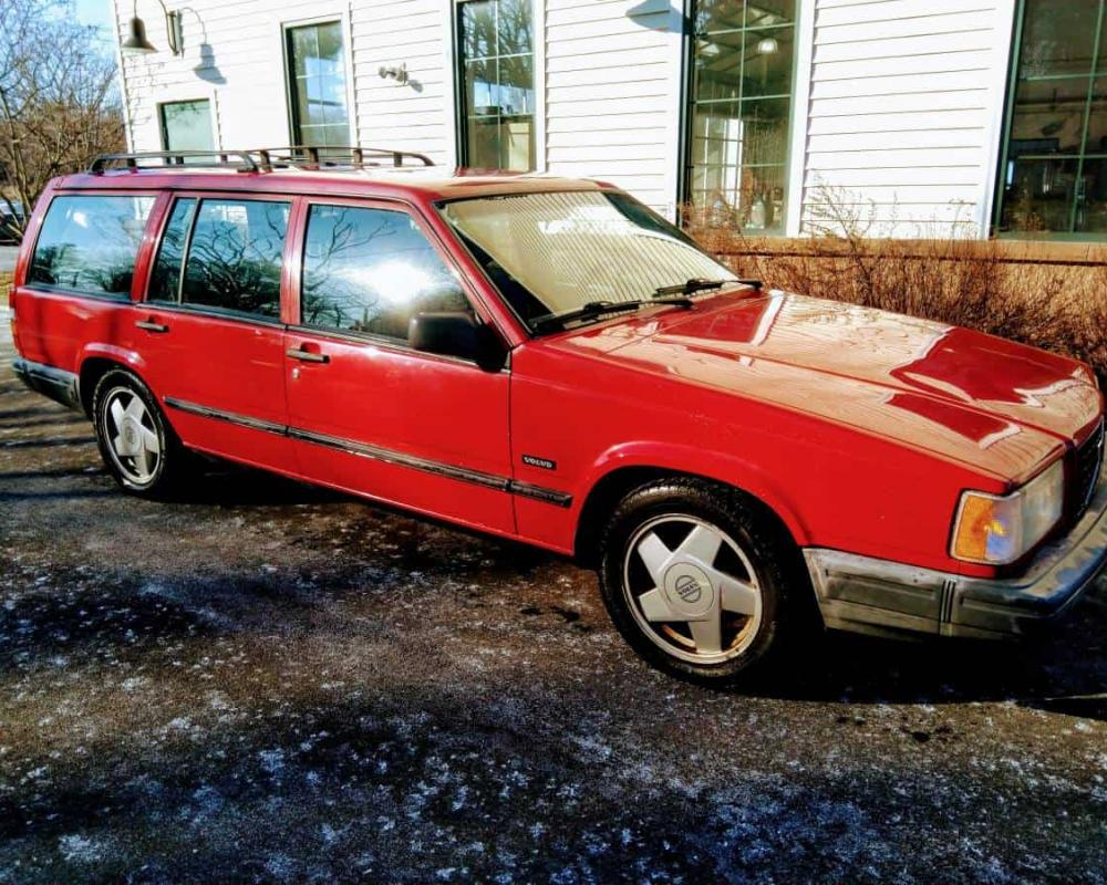 Sports Car Alternative: 1990 Volvo 740 Turbo Estate Wagon – NOW ...