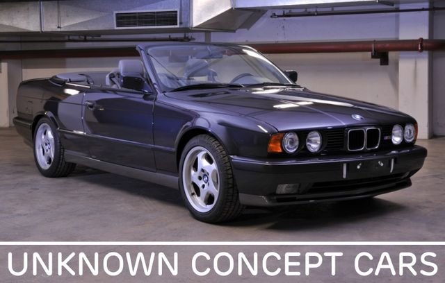 Unknown Concept Cars #4: The 1989 BMW E34 M5 Convertible