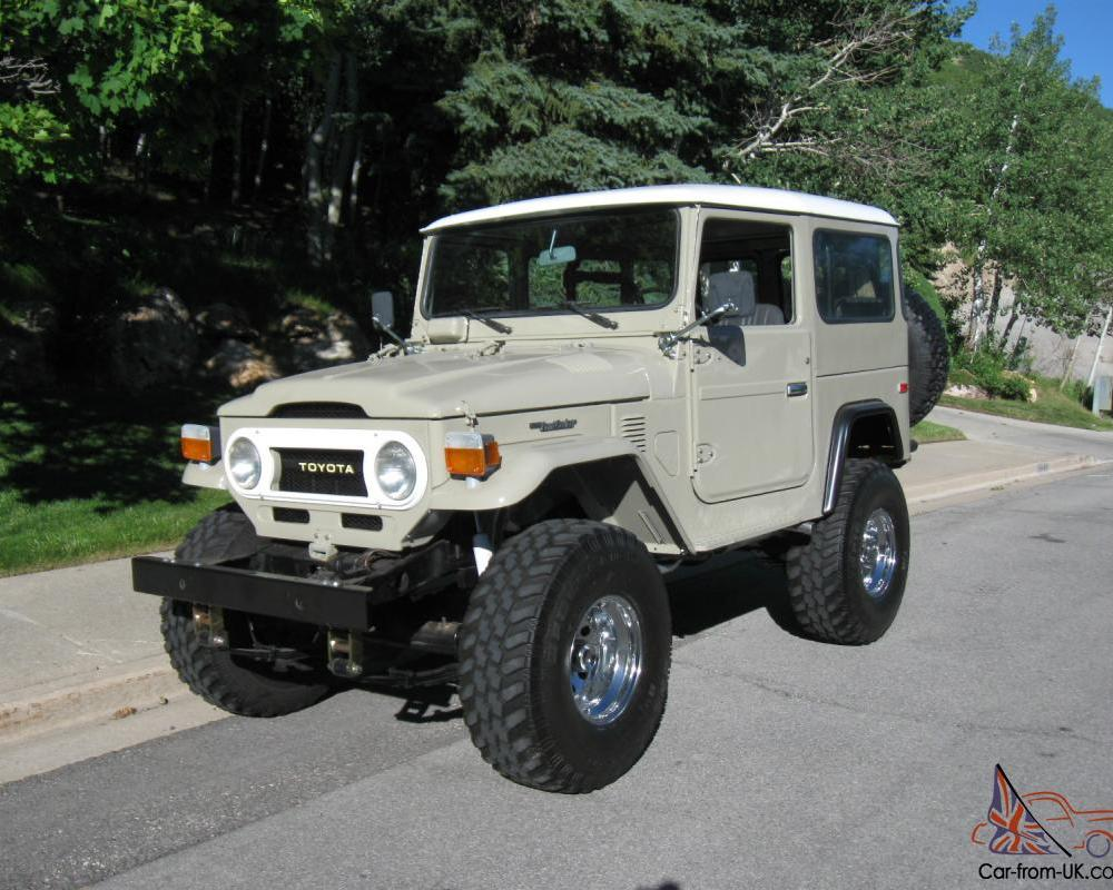 1976 Toyota Land Cruiser FJ40. Complete Restoration. Beautiful!