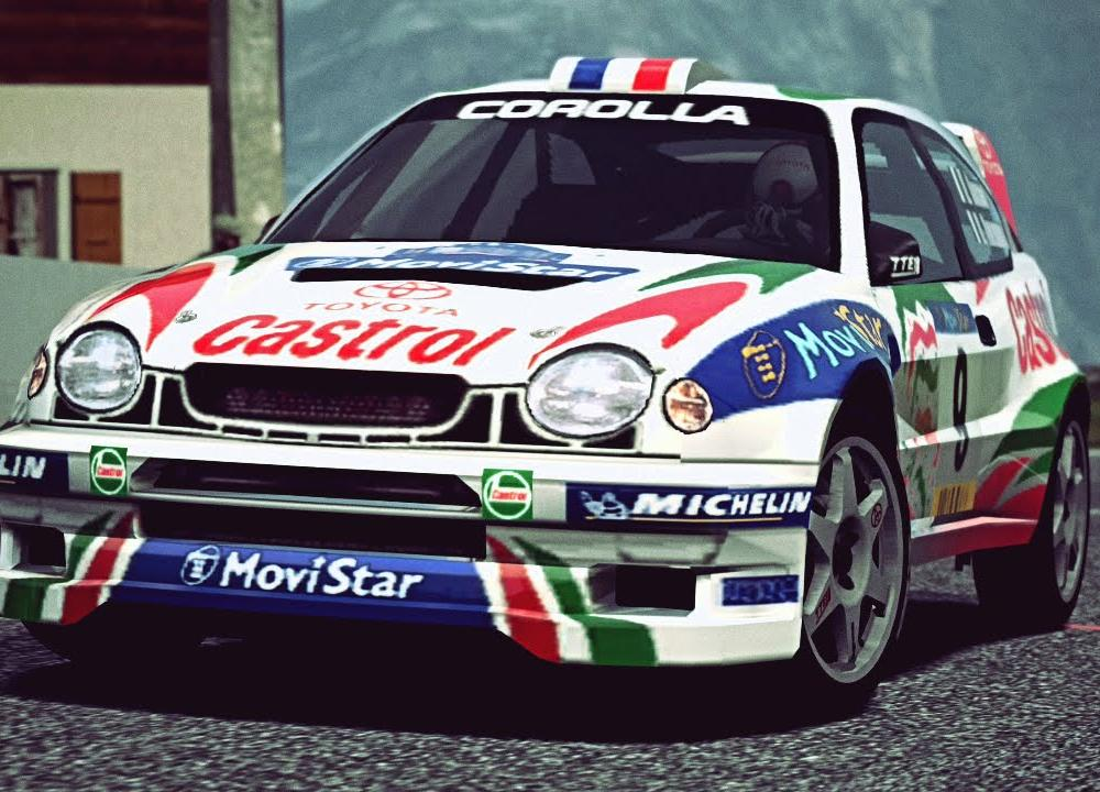 GT6) Toyota COROLLA Rally Car '98 - Exhaust Video - YouTube