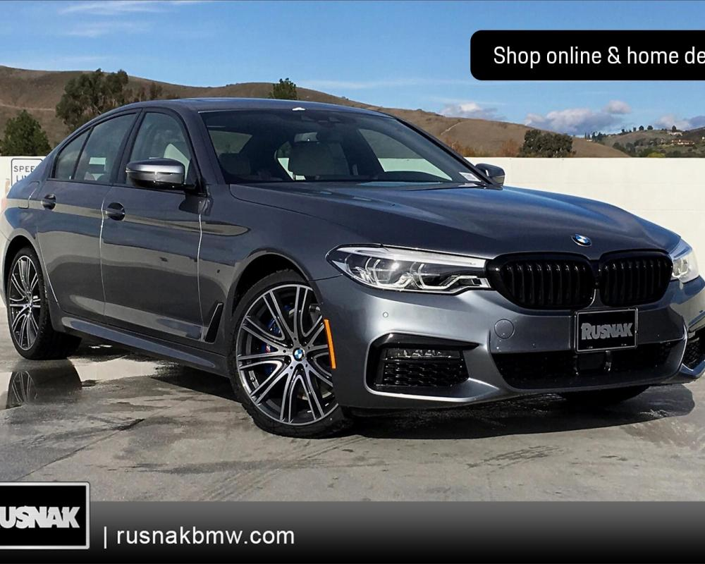 New 2020 BMW 5 Series 540i xDrive 4D Sedan in Thousand Oaks ...
