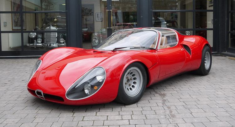 Holy Moses, An Alfa Romeo 33 Stradale Just Turned Up For Auction ...