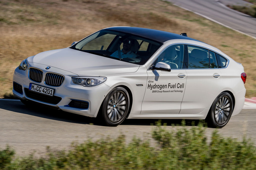 BMW Tests Fuel Cell Technology In 5 Series GT Prototype by Henny ...