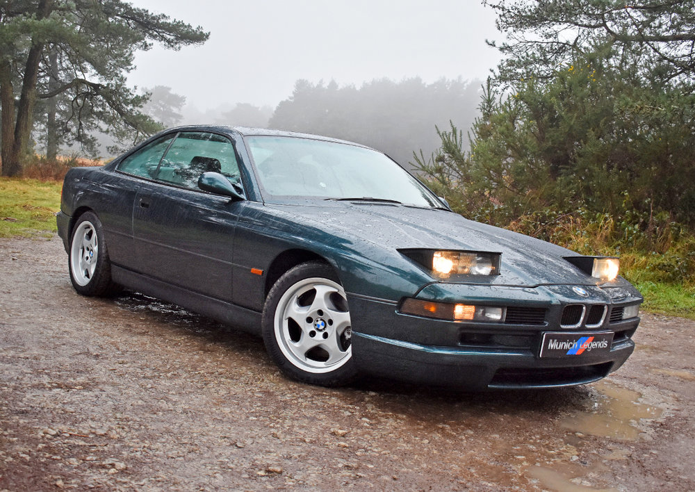 Ads on test: BMW 850 CSI — Modern Classics