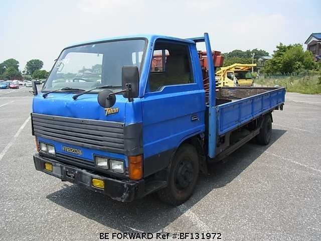 Used 1987 MAZDA TITAN CAB OVER/N-WEF4C for Sale BF131972 - BE FORWARD