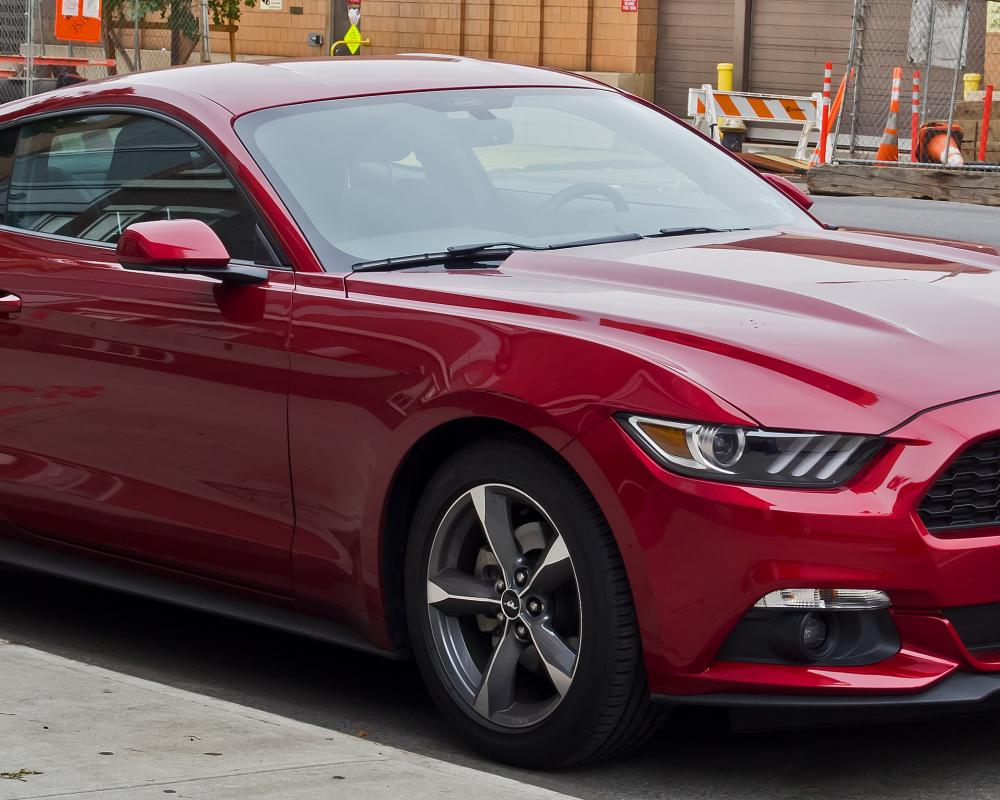 Datei:Ford Mustang V6 Coupé (VI) – Frontansicht, 2. Oktober 2016 ...