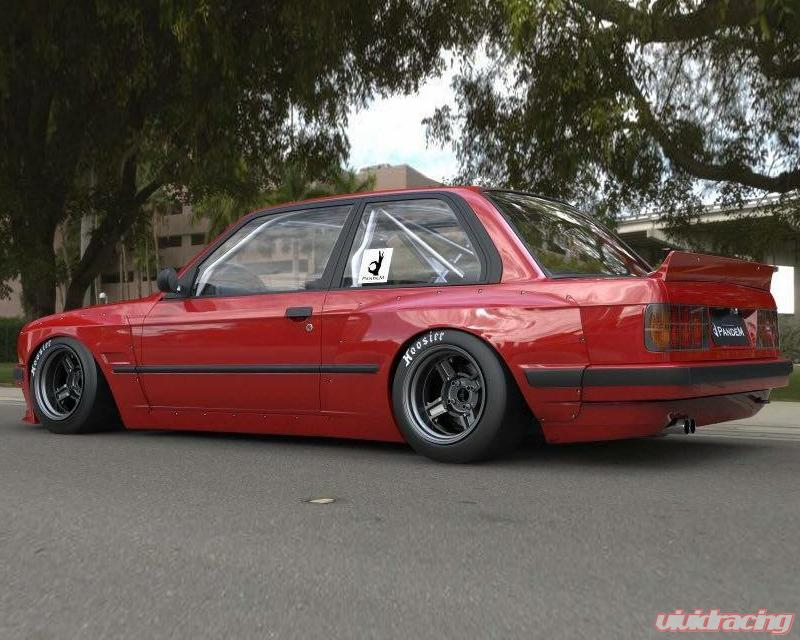 17090234 | Pandem FRP Wide-body Side Skirts BMW E30 316 Coupe 82-90