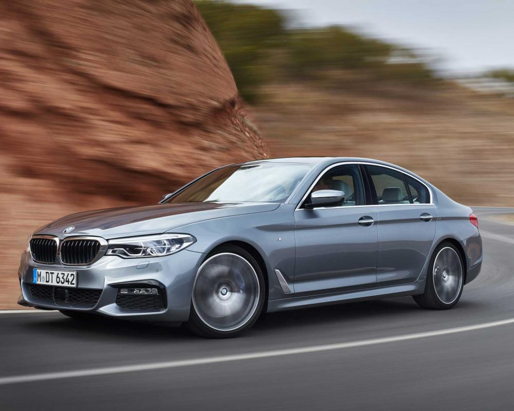 BMW Announces Price for the All-New 2017 BMW 5 Series.