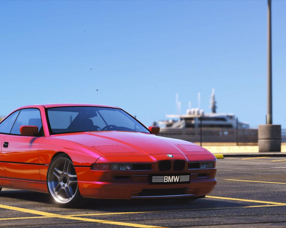 BMW 850 CSI E31 1995 - GTA5-Mods.com
