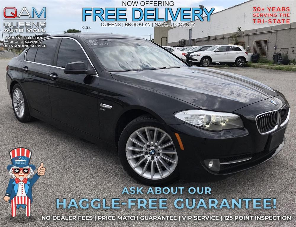 Pre-Owned 2012 BMW 5 Series 535i xDrive 4D Sedan in Richmond Hill ...