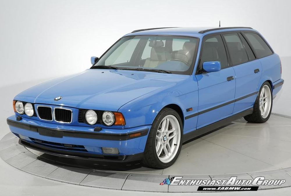 Santorini Blue E34 BMW M5 Touring Is Asking for $129,990 (With ...