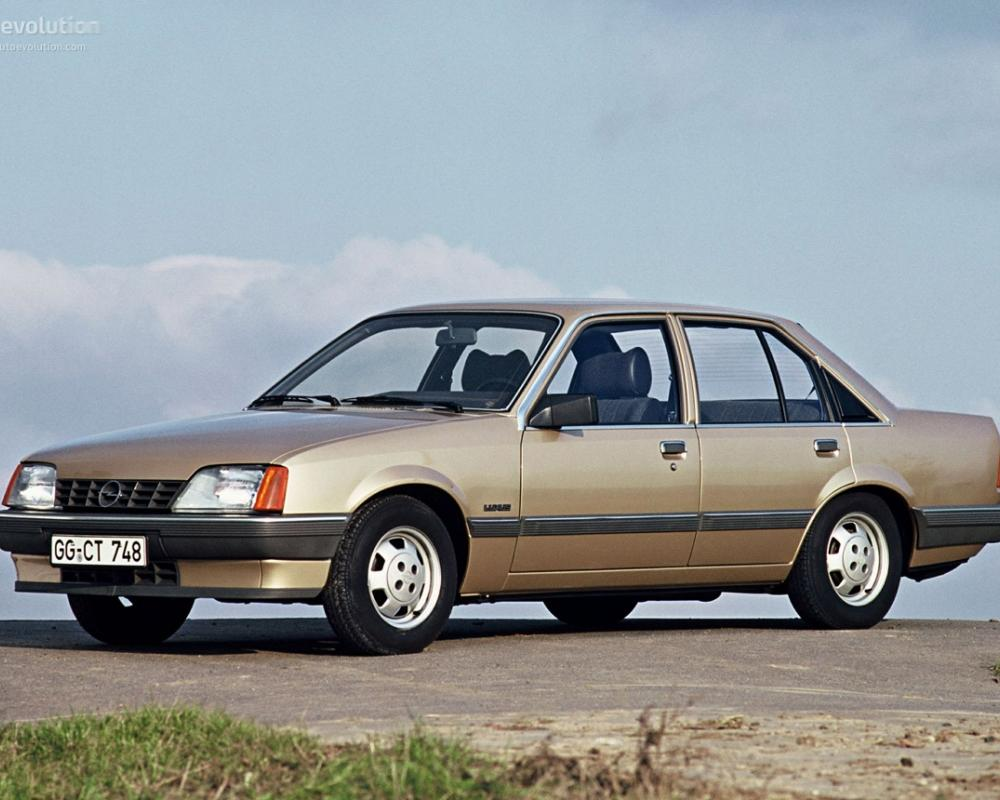 OPEL Rekord Sedan Spezifikationen & Fotos - 1982, 1983, 1984, 1985 ...