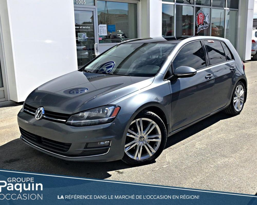 Used 2015 Volkswagen Golf Highline Grey 125,249 KM for Sale ...