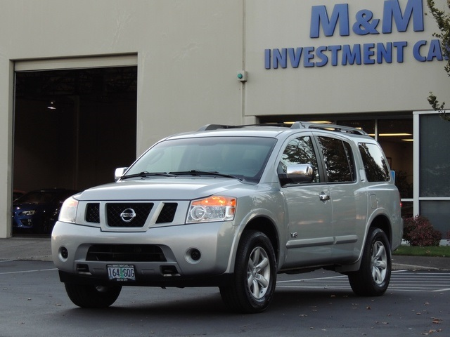 2008 Nissan Armada SE / 4X4 / 3RD ROW SEAT / Excel Cond