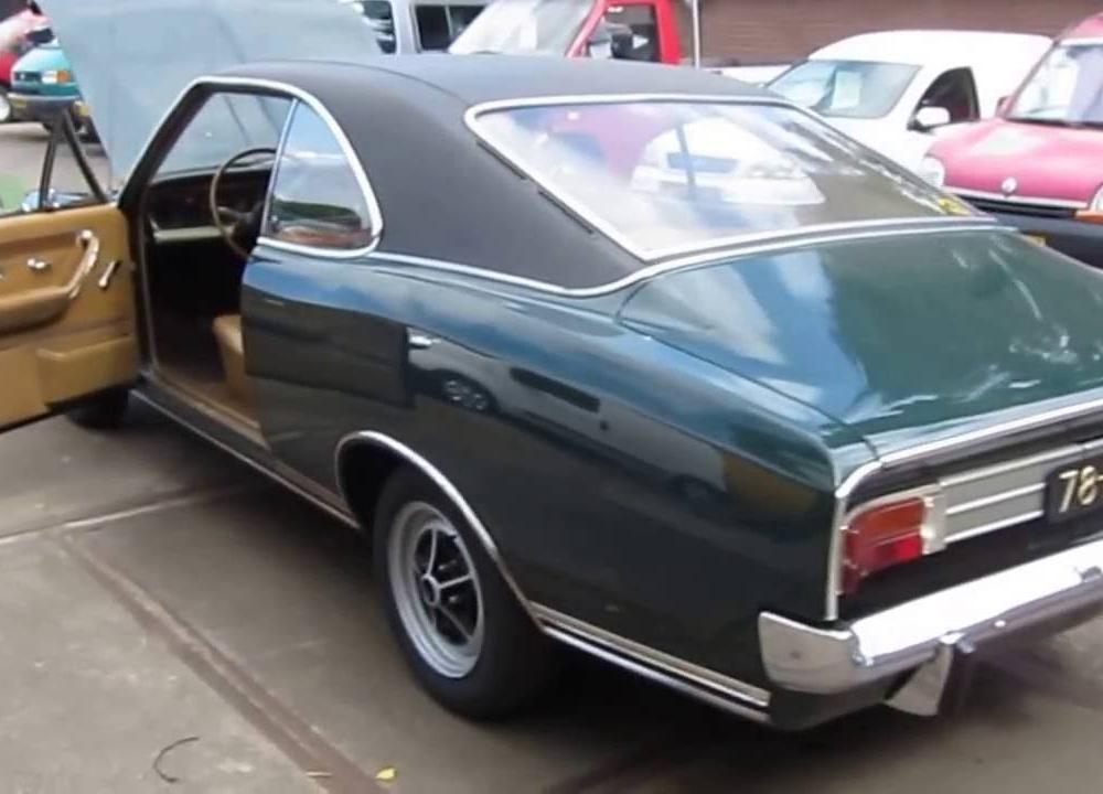 Opel Commodore GS Coupe 1969 - YouTube