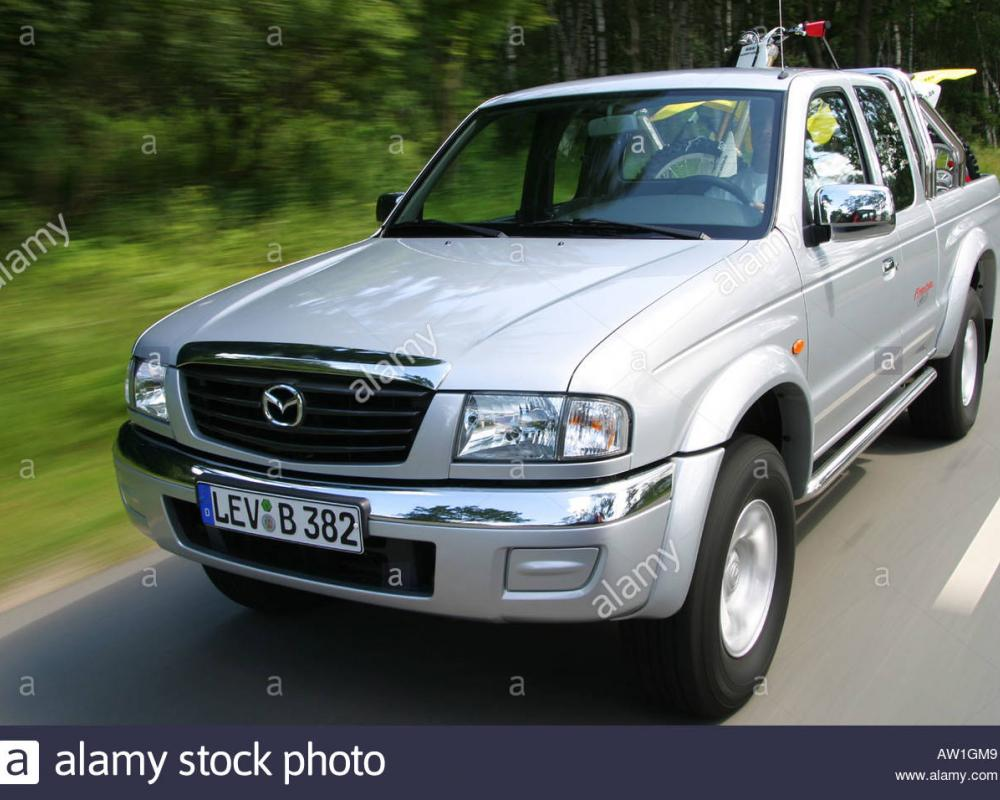 Pick-Up Mazda B2500 Turbo Stock Photo: 9391432 - Alamy