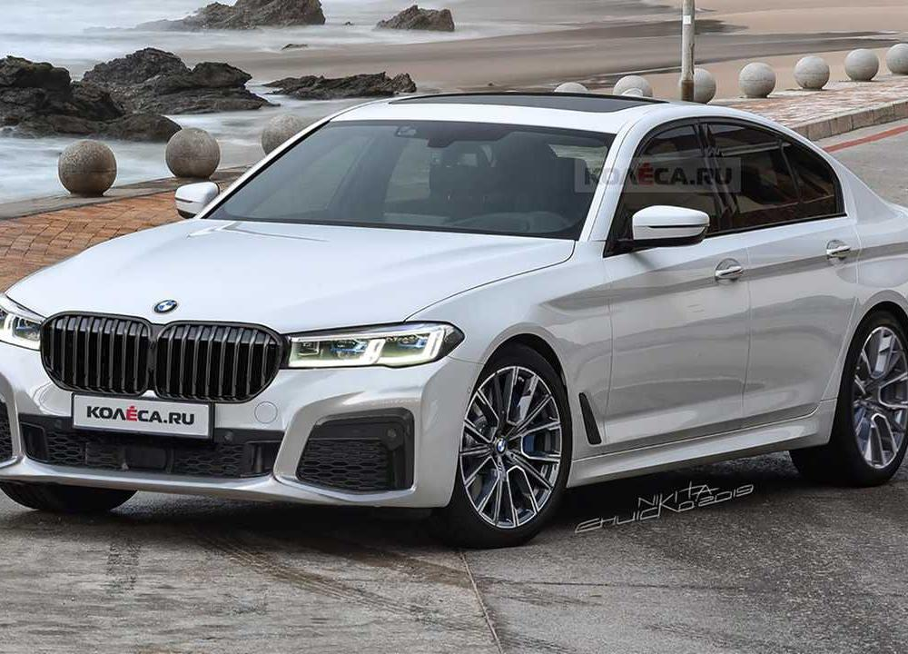 BMW 5 Series Rendering | Motor1.com Photos