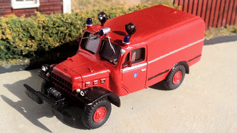 Dodge Power Wagon Fire Truck - By Jussi Kivi