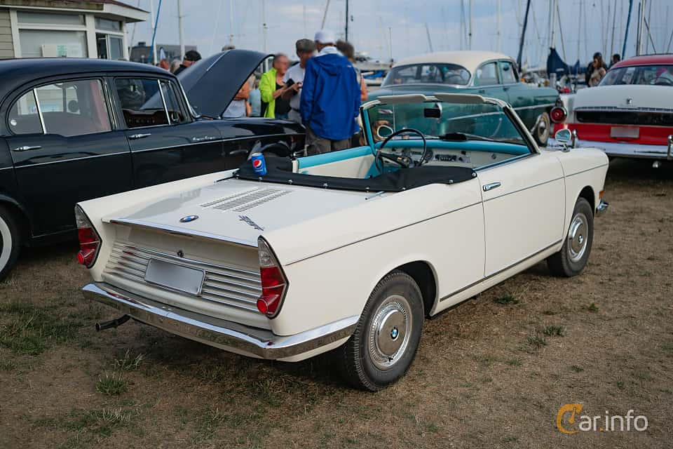 4 images of BMW 700 Cabriolet 0.7 Manual, 40hp, 1962 by marcusliedholm