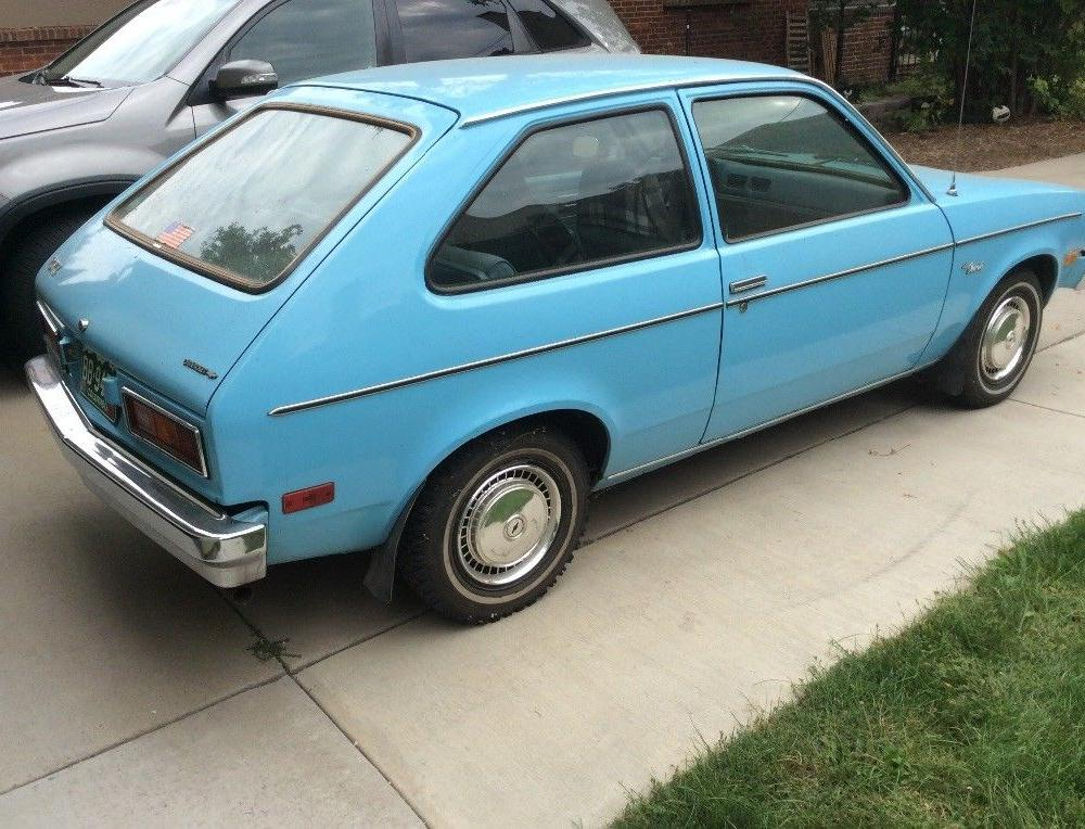 BangShift.com This 1977 Chevrolet Chevette Is Dead-Stock And Ready ...