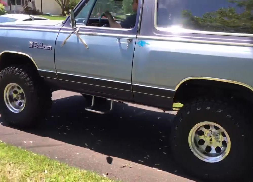 1984 Dodge Ramcharger Royal SE Prospector - YouTube