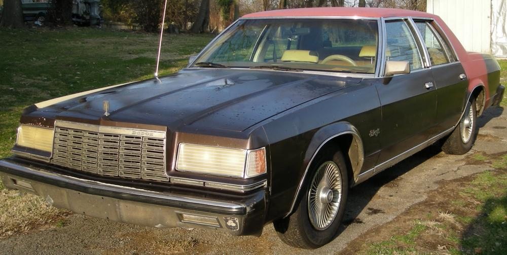 CL Find: 1979 Dodge St. Regis – $1700, OBO, Or Trade For Another ...